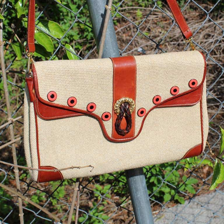Bag 2 with button embellishment