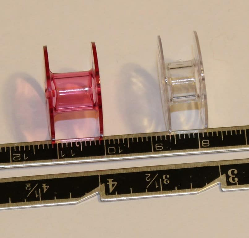 bobbins vary in size on different machines