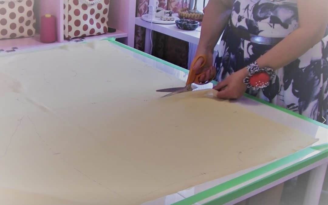 How to cut chiffon without problems