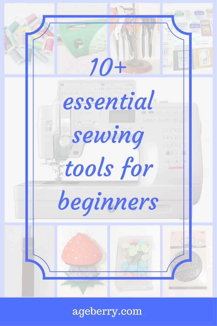 10+ essential sewing tools for beginners
