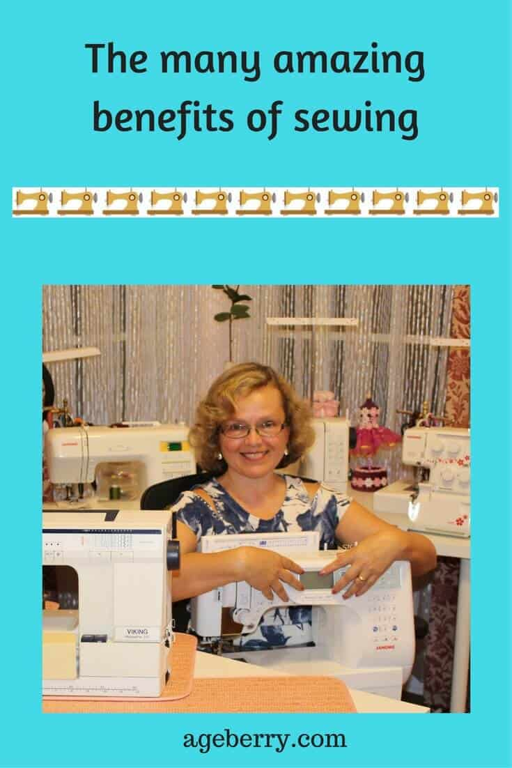 The many amazing benefits of sewing