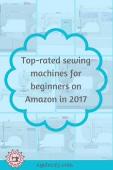 Top rated sewing machines for beginners on Amazon in 2017