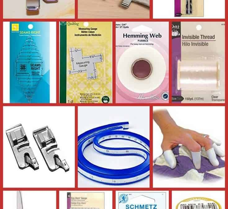 15 sewing tools and accessories to sew curved hems and edges easier