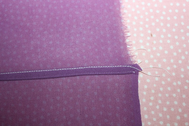 Flat felled seams