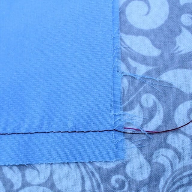 how to sew fast5