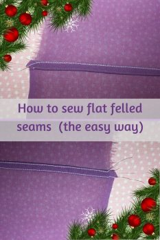 Sewing tips, sewing technique, how to sew flat felled seams, sewing pure silk fabric, flat felled seams for chiffon, #sewingtutorial, #sewingforbeginners, #beginnersewing, #sewingtips.