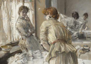 Painting of Blum