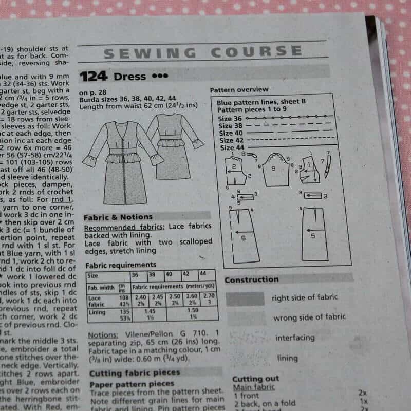 How to sew a dress - Here we sew again