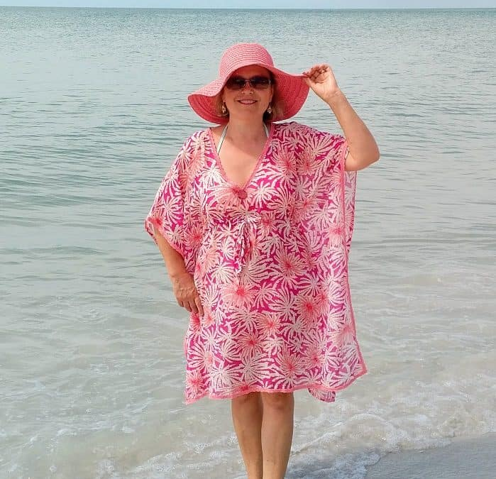 Free sewing patterns: a beach dress