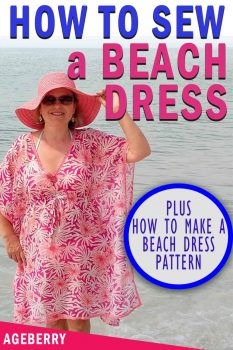 beach dress DIY plus sewing pattern
