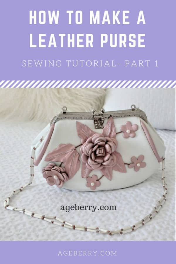 How to make a leather purse