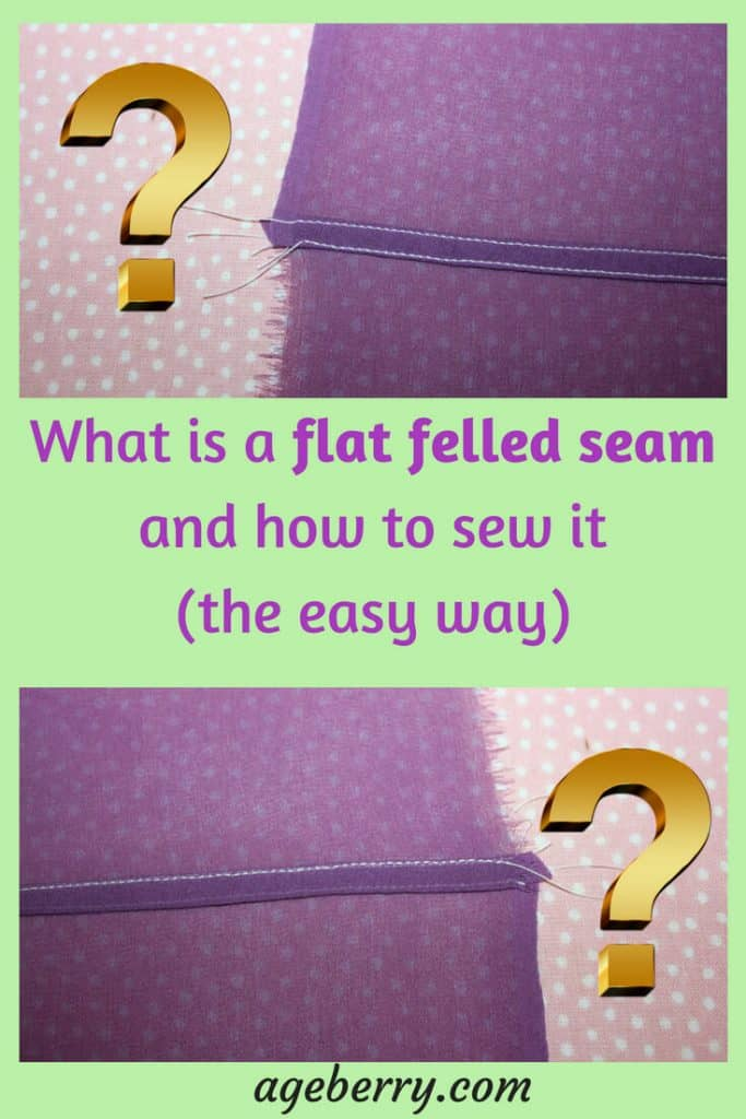 What is a flat felled seam and how to sew it. Sewing tips, sewing technique, how to sew flat felled seams, sewing pure silk fabric, flat felled seams for chiffon #sewingtutorial #sewingforbeginners #beginnersewing #sewingtips