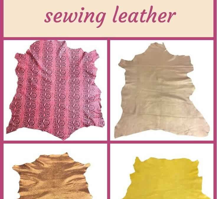 More tips, tricks and techniques for sewing leather