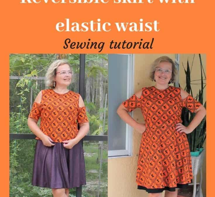 Easy sewing projects: how to sew a skirt