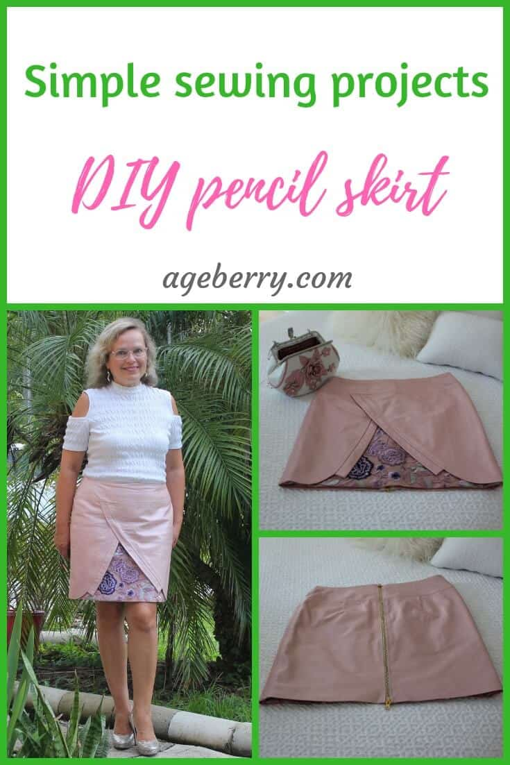 cfc1c1c996fc Simple sewing projects  DIY pencil skirt - Ageberry  helping you ...
