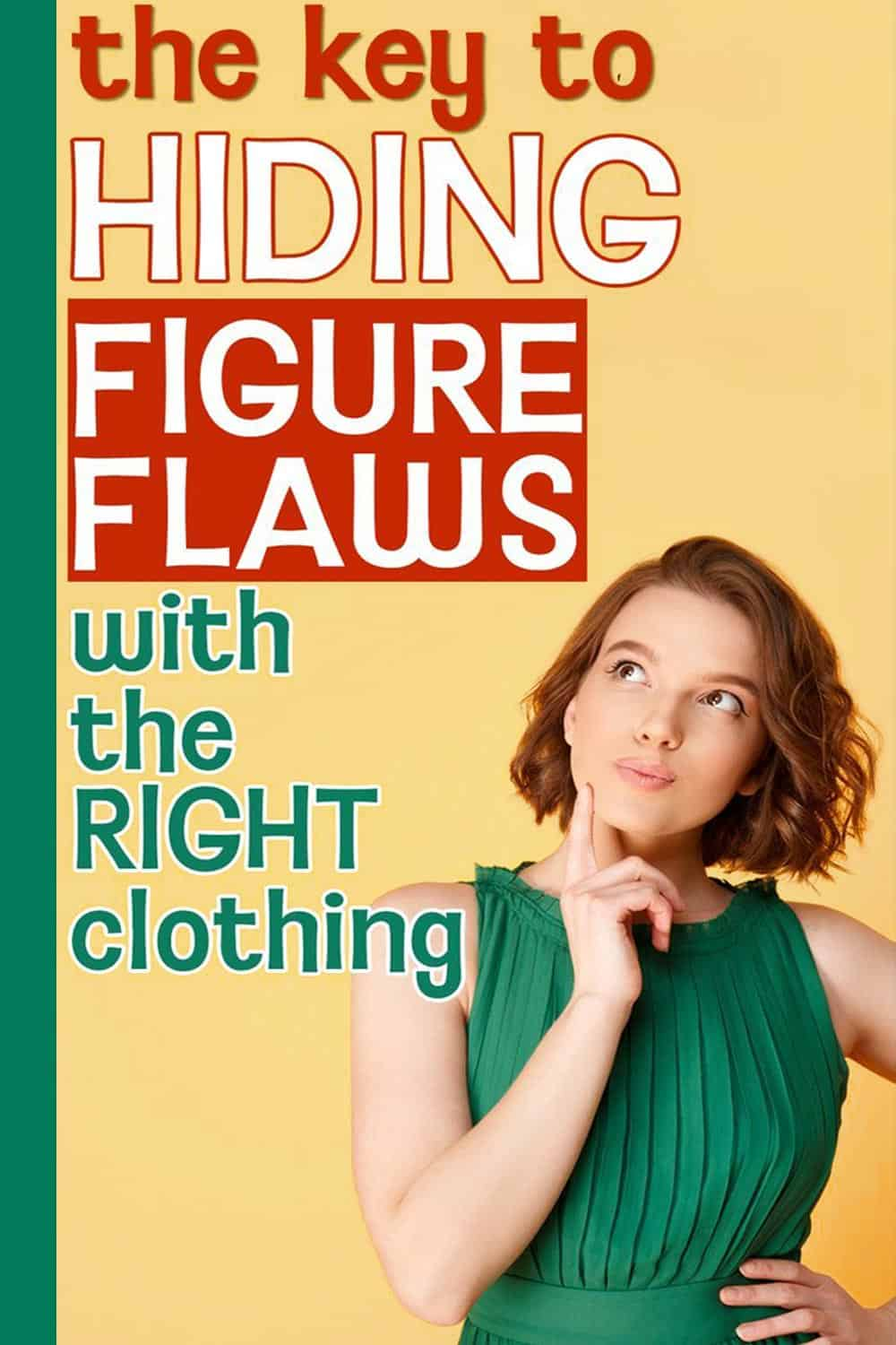 How to dress well: flattering clothes that hide figure flaws