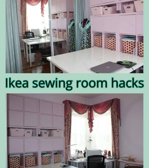 IKEA Sewing Room Hacks