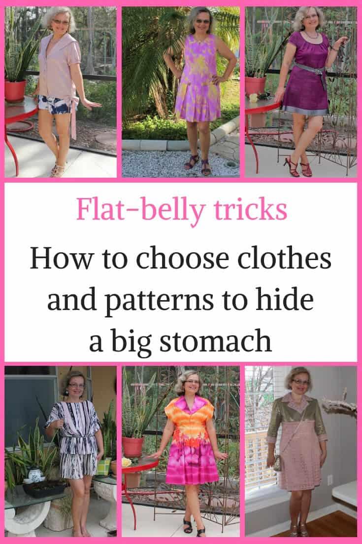 Flat-belly tricks Pinterest image