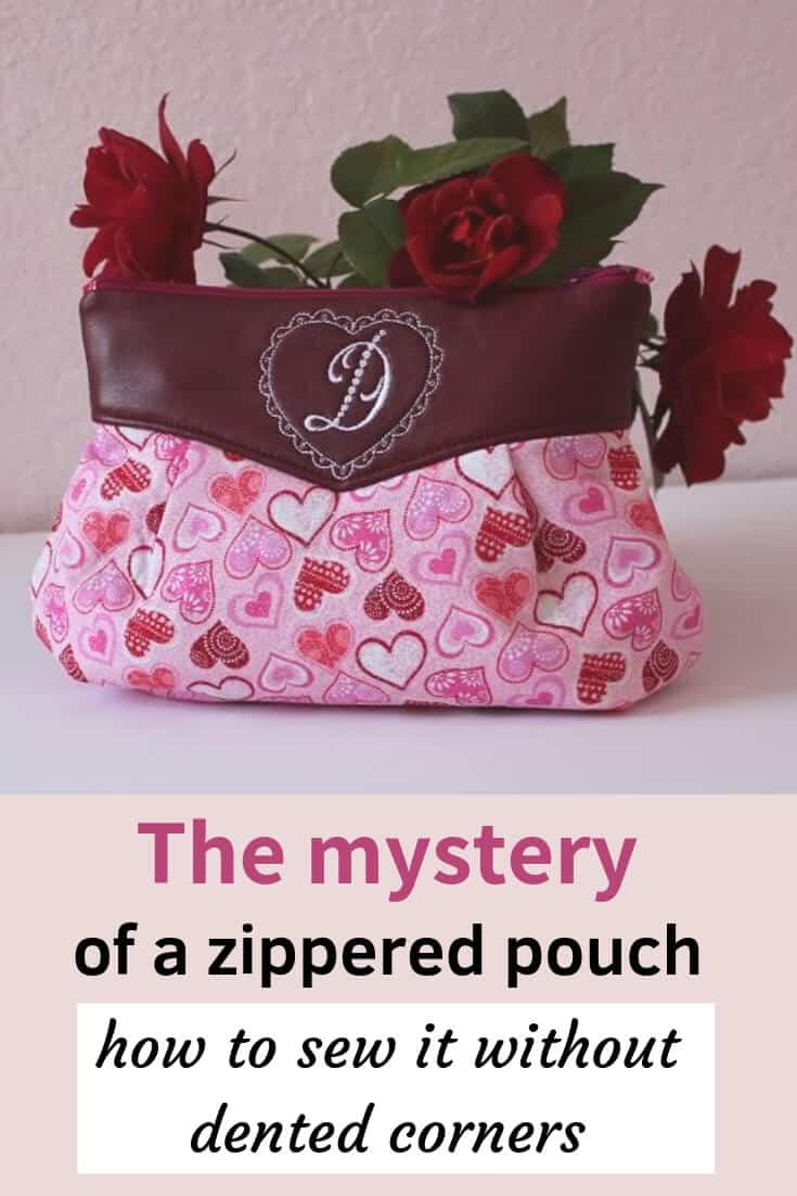 Learn how to make a zippered pouch without dented corners and how to sew a makeup bag with a zipper. If you are wondering how to make a zipper pouch youtube there is a detailed video about sewing a pouch with zipper tabs. Interested in zippered pouch tutorial flat bottom? My zipper pouch has the flat bottom.