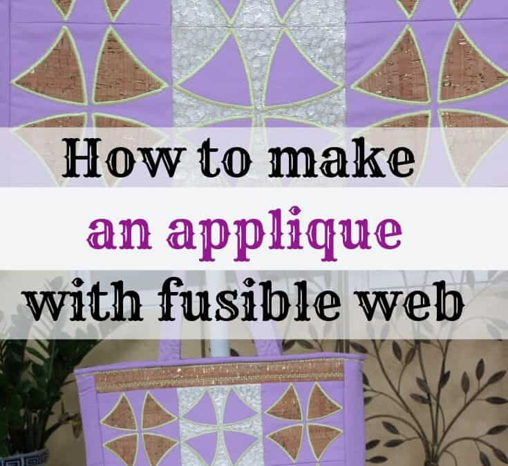 How to use fusible interfacing for applique