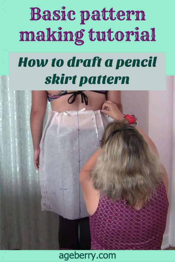 If you want to learn how to sew a pencil skirt with zipper start with basic skirt pattern drafting. In this skirt cutting tutorial I will show you draping method of pattern making. Learn how to cut and sew a skirt and check out my video on how to sew a pencil skirt youtube.