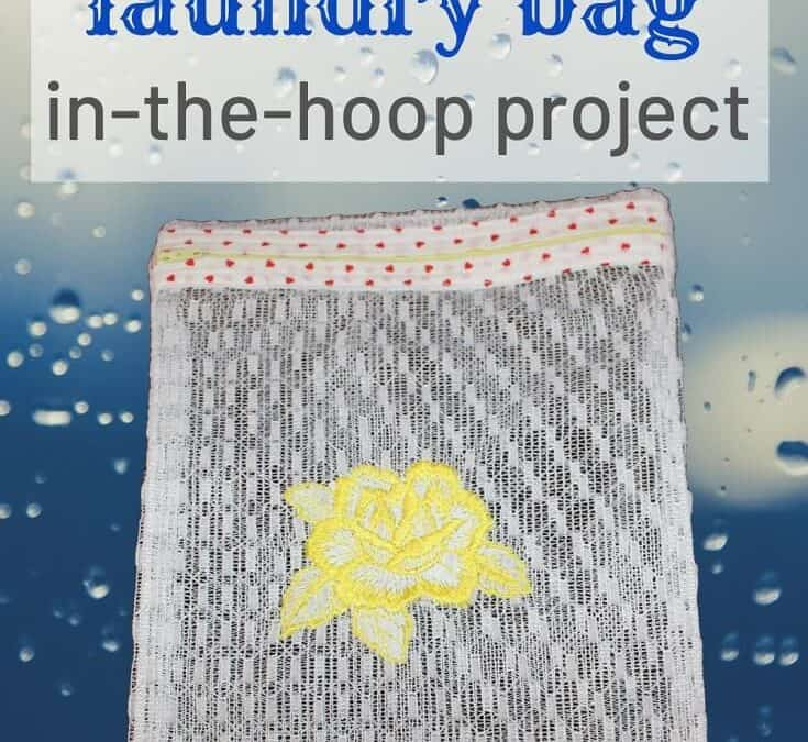 DIY mesh bag / video sewing tutorial / in the hoop projects