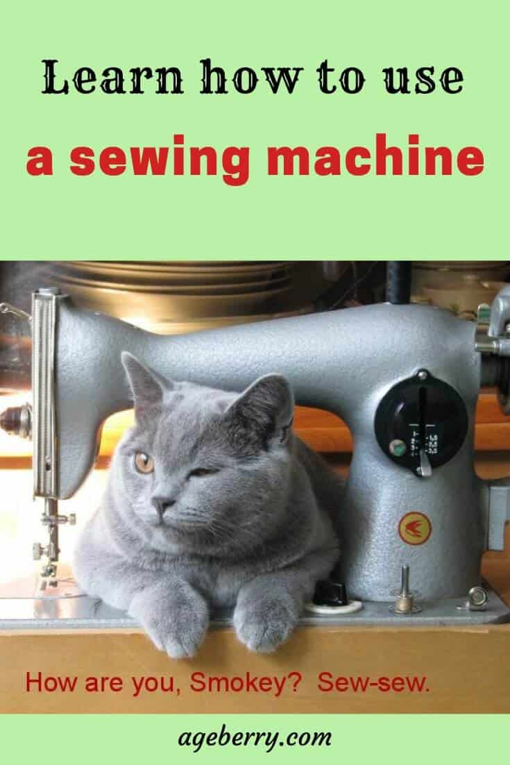 how to use a sewing machine video sewing tutorial pin for Pinterest