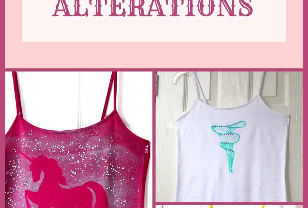 No-sew t-shirt alterations