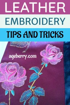 leather embroidery tips and tricks