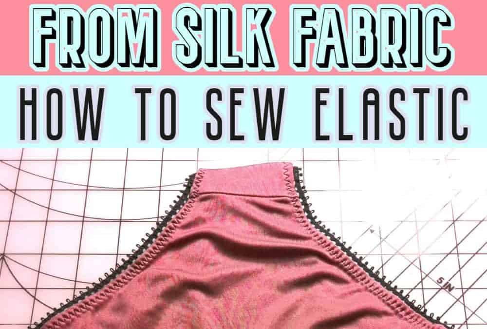 Sewing made simple: DIY panties tutorial (plus how to sew knits and how to attach elastic)