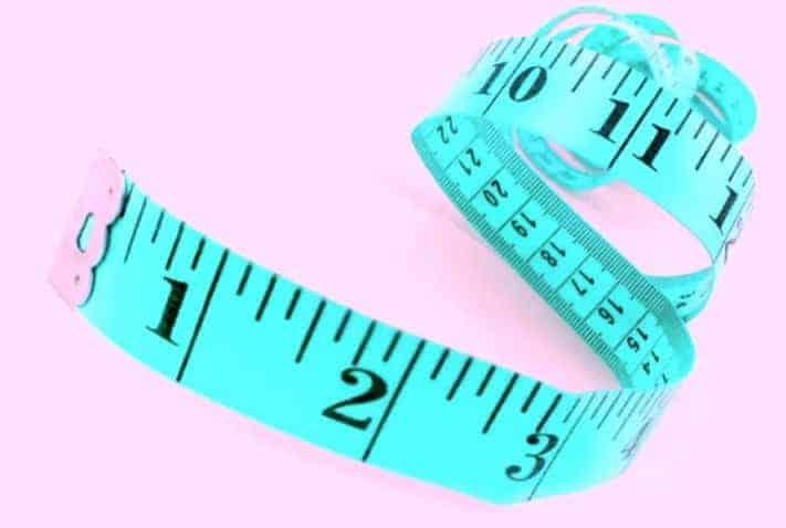 Black Automatic 1.5m Button Click Retractable Sewing Tools Mini Measure Tape
