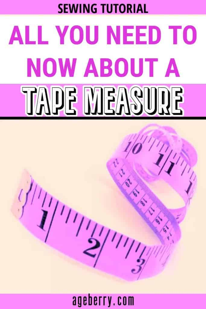 tape measure for sewing