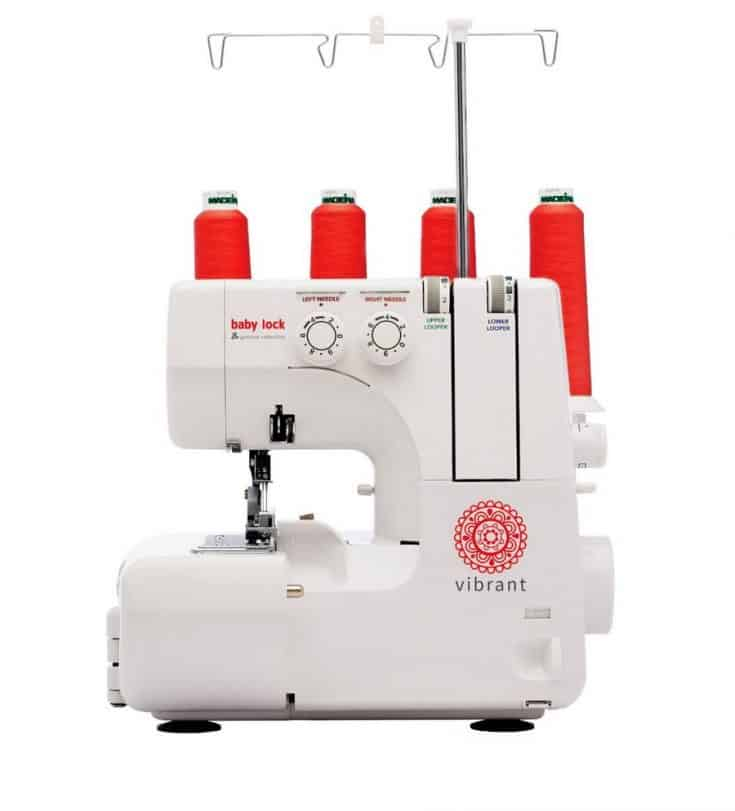 Baby Lock Vibrant Serger Machine - From the Genuine Collection