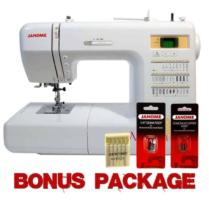Janome Magnolia 7330 Sewing Machine w/ FREE BONUS Package- 30 Stitch Computerized