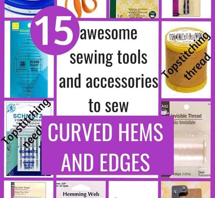 15 hemming tools for sewing curved hems and edges easier