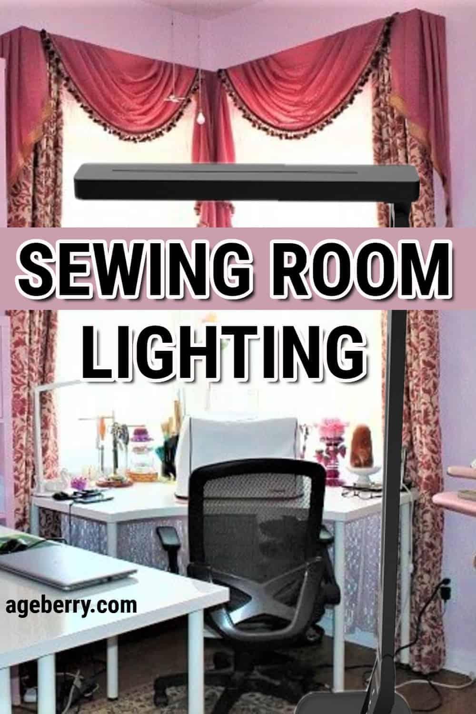 sewing room lighting ideas