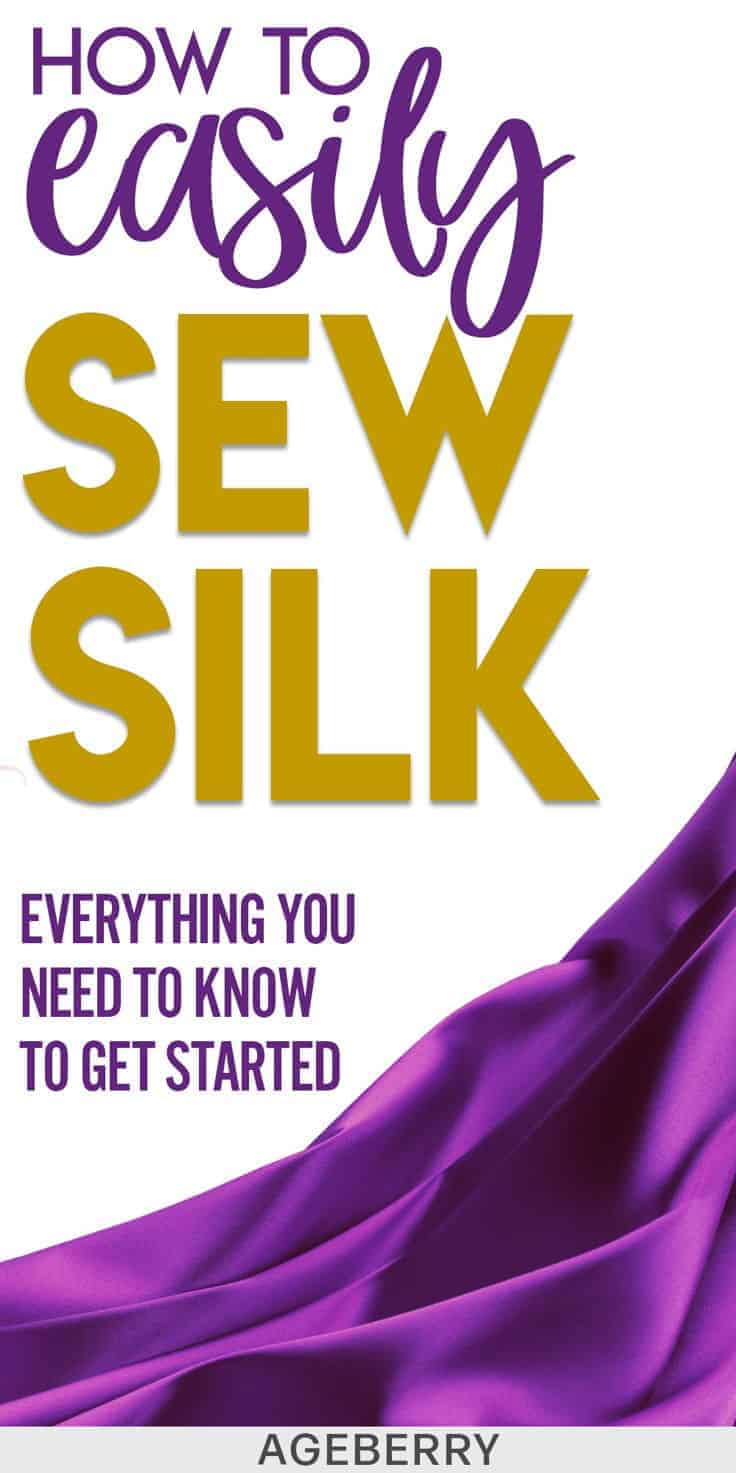 how to sew silk fabric