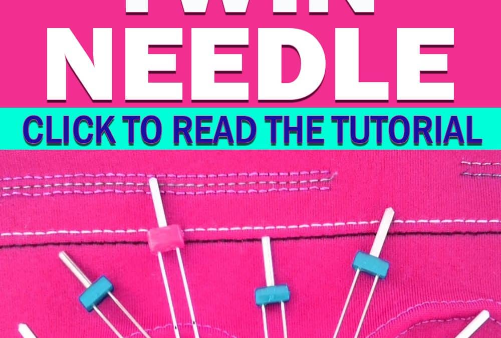 Twin needle sewing machine – everything you need to know about sewing with a twin needle
