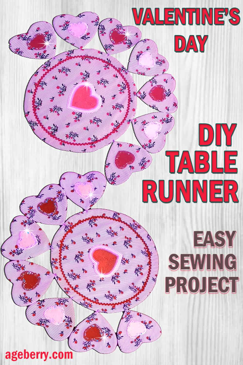Valentine sewing project