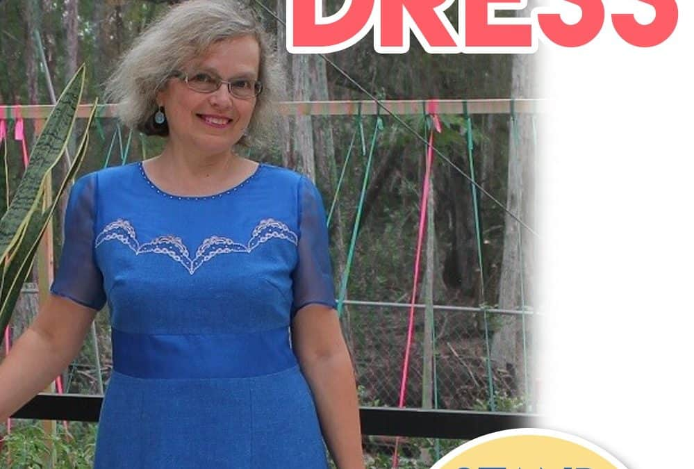 How to cut and sew a dress: step-by-step tutorial