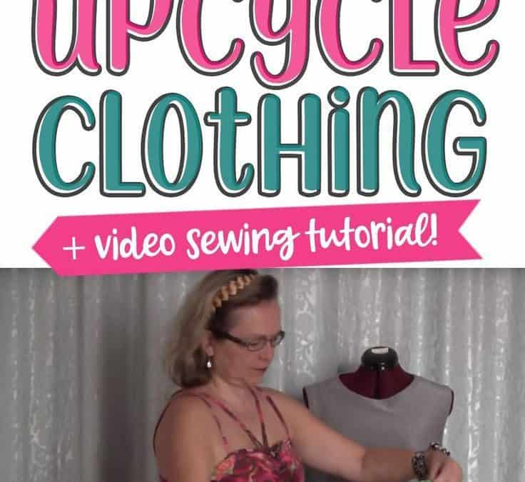 How to upcycle an old dress