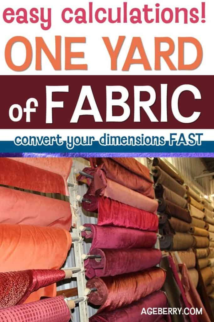 how much is a yard of fabric