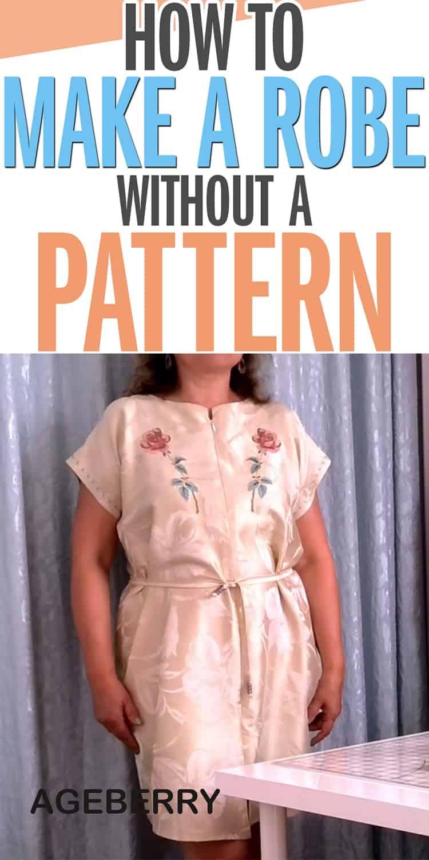 Silk robe pattern