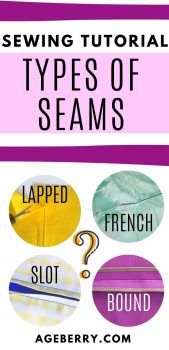 types of seams