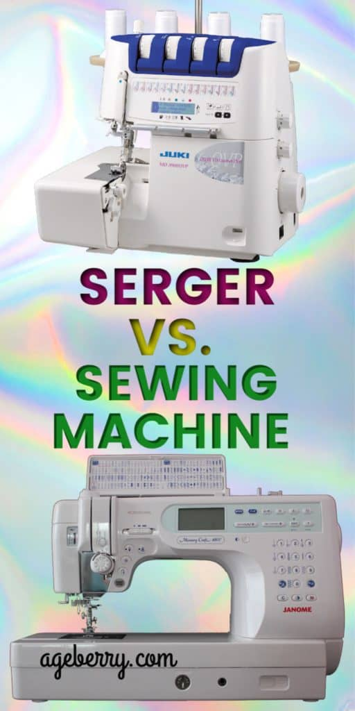Serger vs. sewing machine