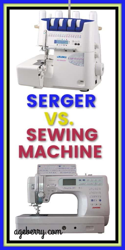 Serger vs. sewing machine