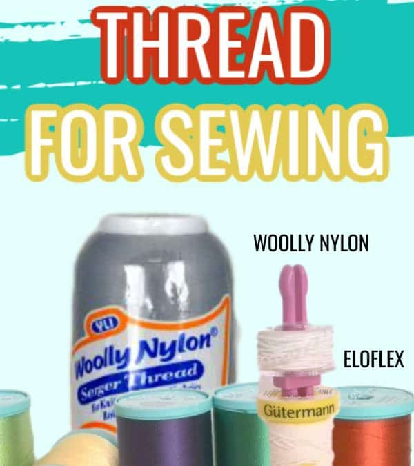 Stretch Thread for Sewing