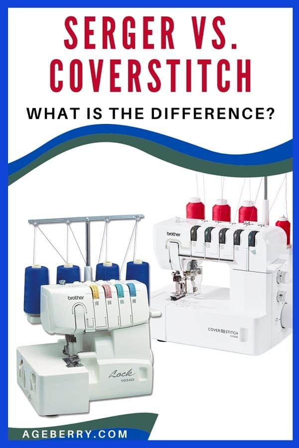 Coverstitch vs. serger what is the difference