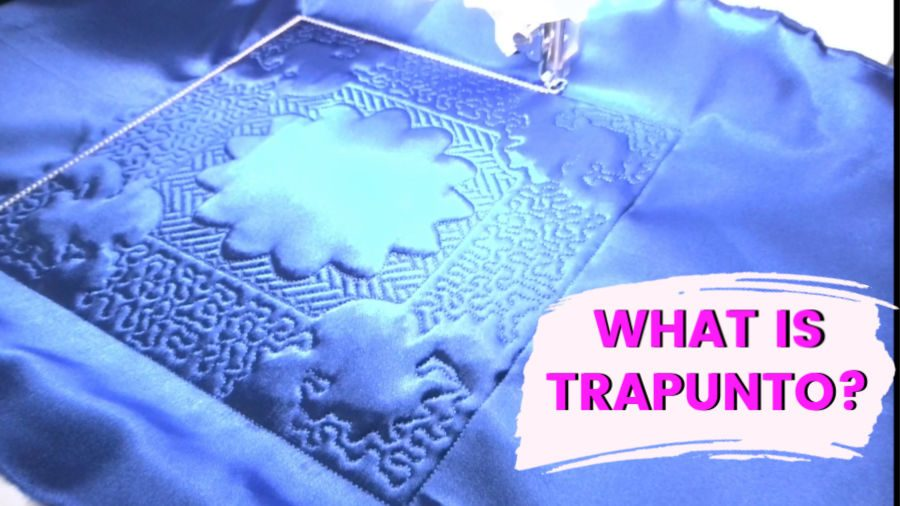 What is trapunto?