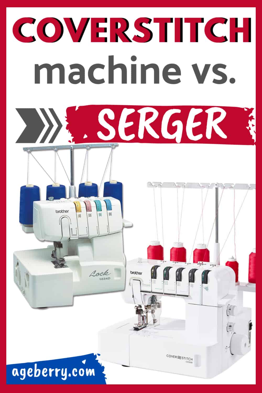 coverstitch vs. serger